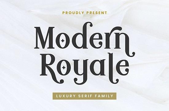 Modern Royale Font free download
