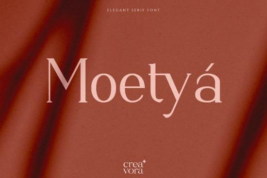 Moetya Font