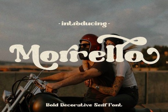 Morrello Font free download