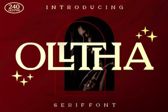 Olltha Font free download