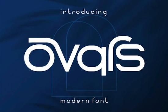 Ovars Font free download