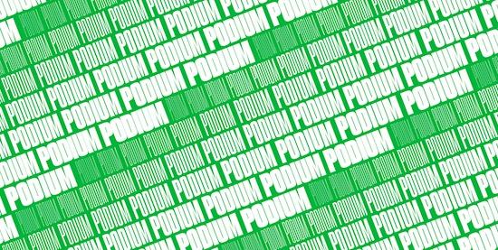 PODIUM Sharp Font free download