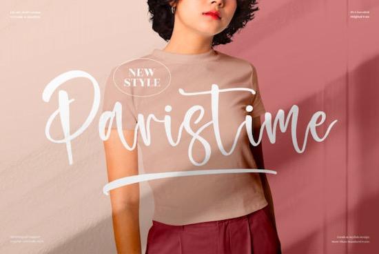Paristime Font free download