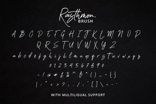 Rasthmon Font download