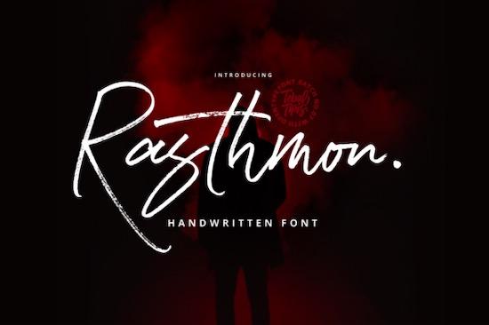 Rasthmon Font free download