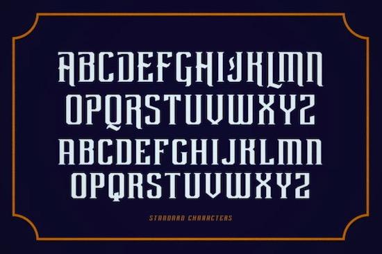 Rebute Font free