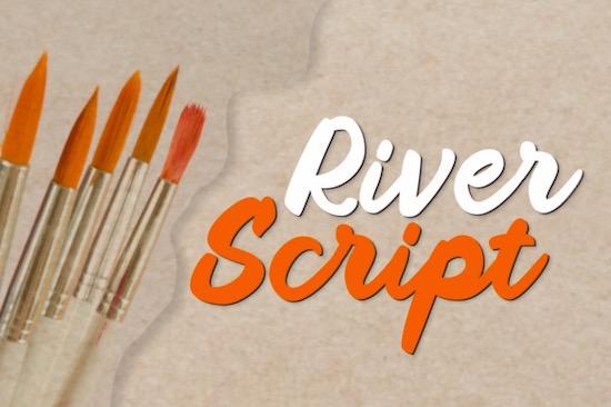River Script Font free download