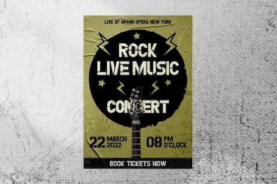 Rock Stencil Font download