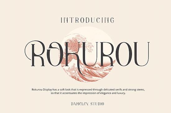 Rokurou Font free download