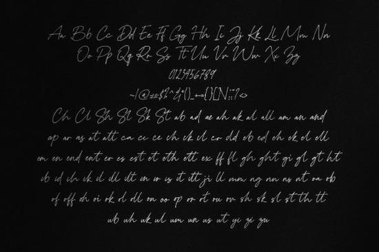 Rolasan Signature Font download