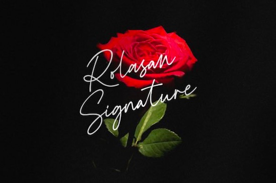 Rolasan Signature Font free download