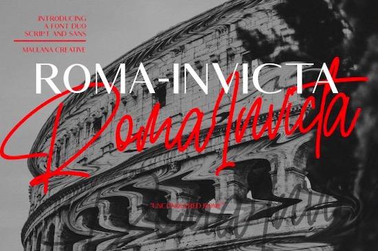 Roma Invicta Font free download