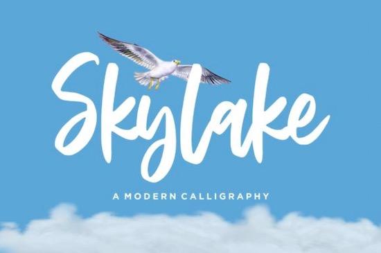 Skylake Font free download