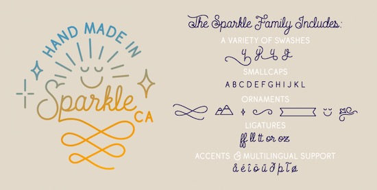 Sparkle Font free