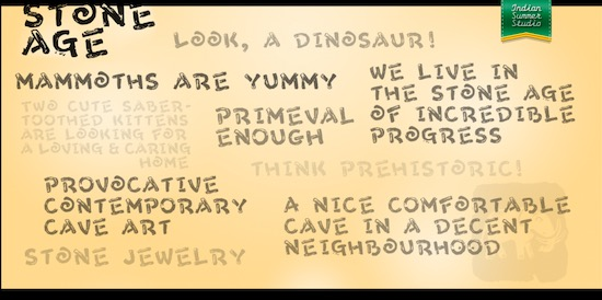 Stone Age Font download free