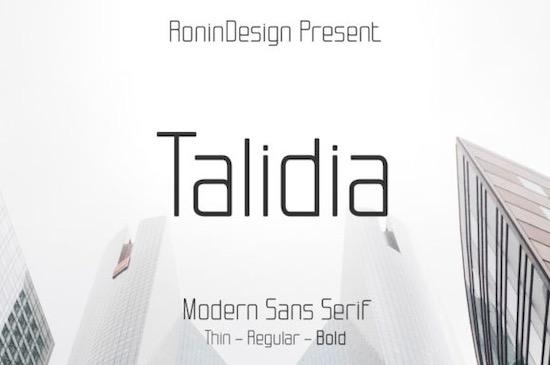 Talidia font free download