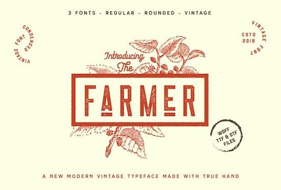The Farmer Font free download