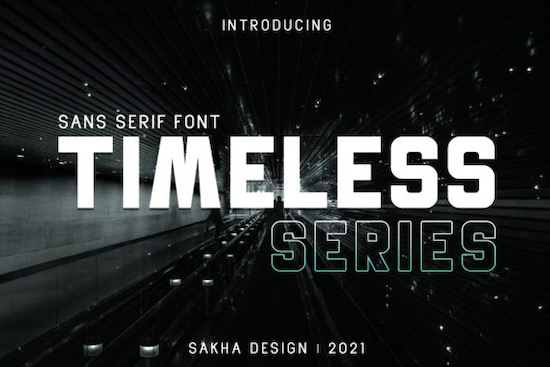 Timeless Series Font free download