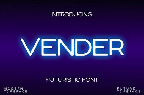 Vender Font free download