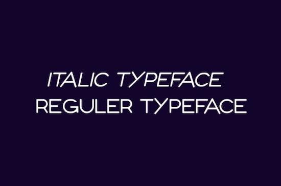 Vender Font free