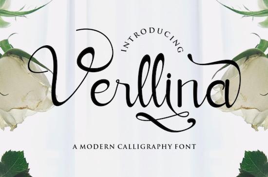 Verllina Font free download