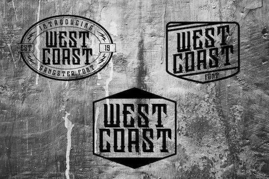 Westcoast Font free
