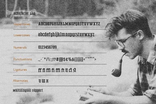 Wildstone Font download
