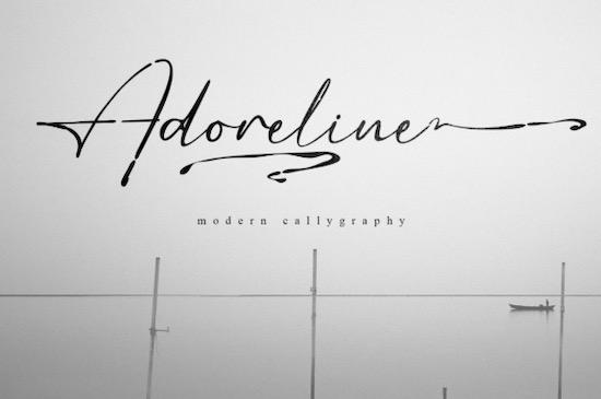 Adoreline Font