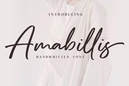 Amabillis Font free download