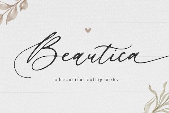 Beautica Font free download