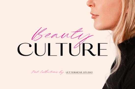 Beauty Culture Font free download