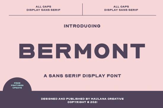 Bermont Font free download