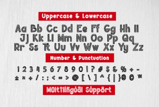 Beuna Line Font download