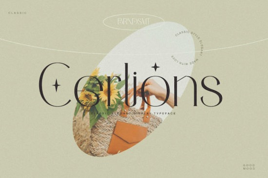 Cerlions Font free download