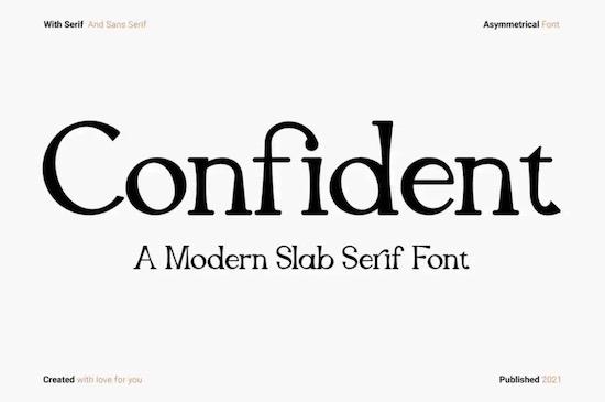 Confident Font download