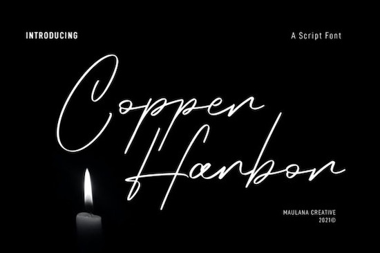 Copper Harbor Font free download