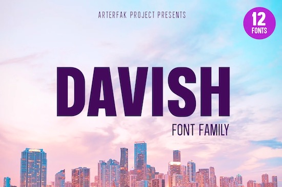 Davish Font free download