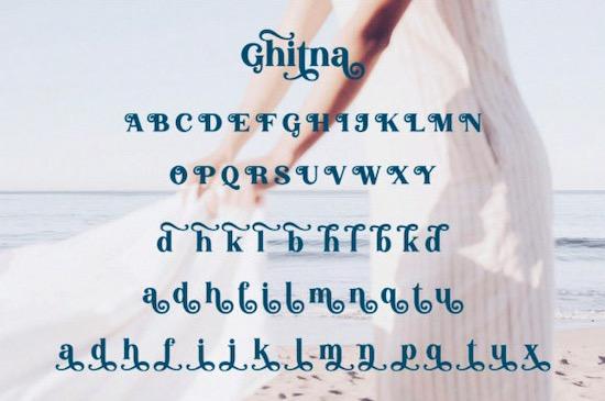 Ghitna Font download