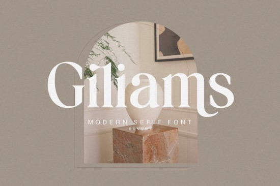 Giliams Font free download