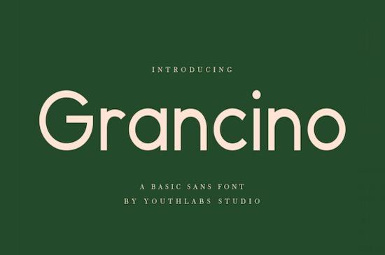 Grancino Font free download