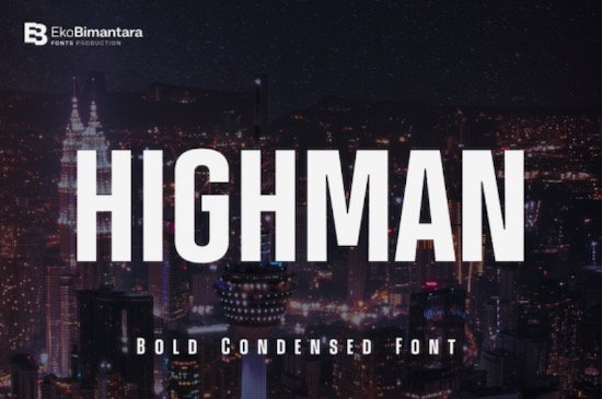 Highman Font free download