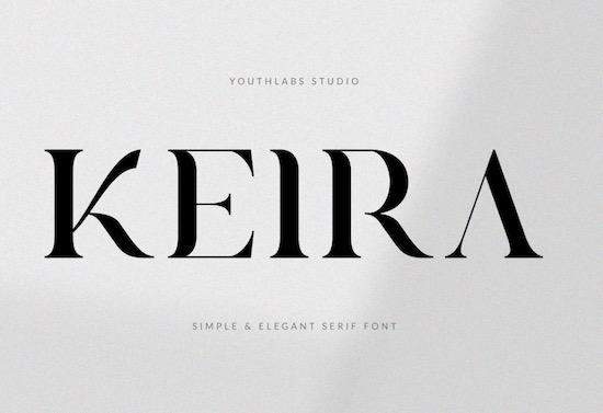 Keira Serif Font free download