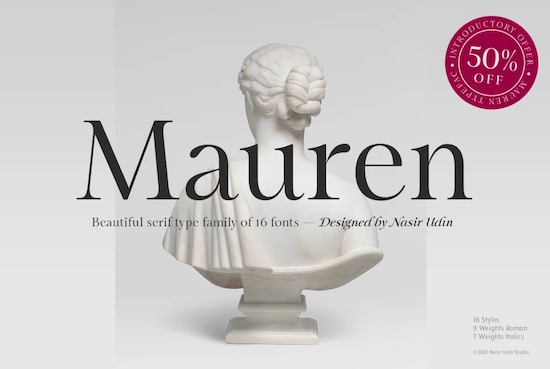 Mauren Font free download