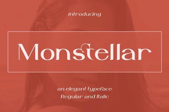 Monstellar Font free download