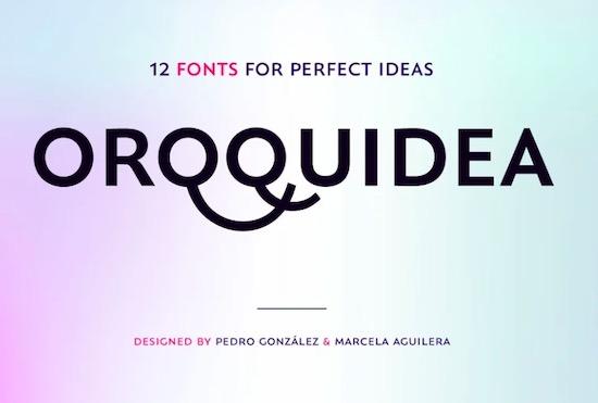 Orqquidea Font free download