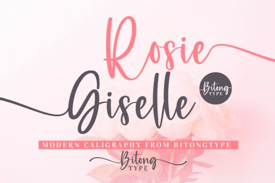 Rosie Giselle Font free download