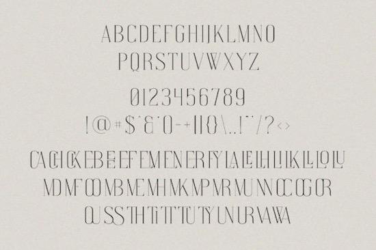 Watterlen Font download