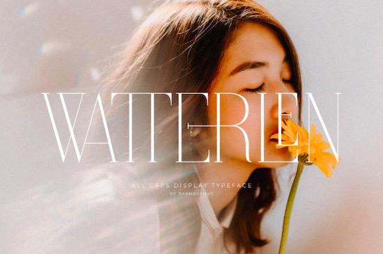 Watterlen Font free download
