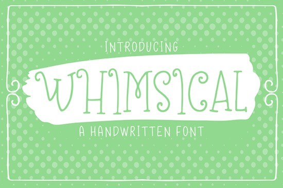 Whimsical Font free download