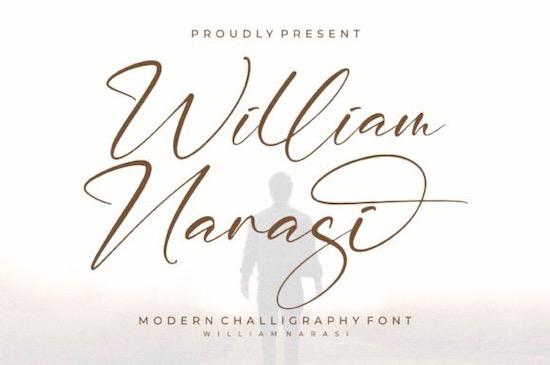 William Narasi Font free download